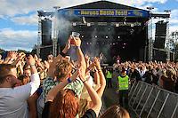 Sie Gubba, fredag på Sommerfestivalen. Foto: Bente Haarstad Sommerfestivalen i Selbu er en av Norges største musikkfestivaler. Sommerfestivalen is one of the biggest music festivals in Norway.