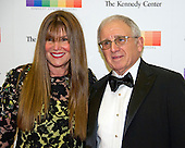 American entertainment executive and personal manager Irving Azoff, and his wife, Shirley, arrive for the formal Artist's Dinner honoring the recipients of the 39th Annual Kennedy Center Honors hosted by United States Secretary of State John F. Kerry at the U.S. Department of State in Washington, D.C. on Saturday, December 3, 2016. The 2016 honorees are: Argentine pianist Martha Argerich; rock band the Eagles; screen and stage actor Al Pacino; gospel and blues singer Mavis Staples; and musician James Taylor.<br /> Credit: Ron Sachs / Pool via CNP