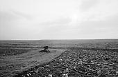 Simbata De Sus, Transylvania<br /> Romania<br /> April 25, 1992<br /> <br /> Cultivating fields