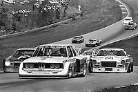 BRASELTON, GA - APRIL 17: David Hobbs drives the #2 McLaren North America BMW 320i Turbo 001 during the WQXI Road Atlanta 100 IMSA Camel GT race at Road Atlanta near Braselton, Georgia, on April 17, 1977.