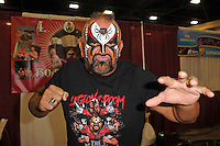 MIAMI BEACH, FL - JULY 02: Road Warrior Animal attends Florida Supercon at The Miami Beach Convention Center on July 2, 2016 in Miami Beach, Florida. Credit: mpi04/MediaPunch