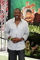 "LOS ANGELES - AUG 5:  Ernie Hudson arrives at the ""ParaNorman"" Premiere at Universal CityWalk on August 5, 2012 in Universal City, CA"