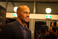 GOLD COAST, Queensland/Australia (Friday, February 24, 2012) Kelly Slater (USA) with girlfriend Kalani Miller (USA).  The 29th Annual ASP World Surfing Awards went off tonight at the Gold Coast Convention and Exhibition Centre with the worlds best surfers trading the beachwear for formal attire as the 2011 ASP World Champions were officially crowned.. .Kelly Slater (USA), 40, and Carissa Moore (HAW), 19, took top honours for the evening, collecting the ASP World Title and ASP Womens World Title respectively.. .I have actually been on tour longer than some of my fellow competitors have been alive, Slater said. All joking aside, its truly humbling to be up here and honoured in front of such an incredible collection of surfers. I want to thank everyone in the room for pushing me to where I am...In addition to honouring the 2011 ASP World Champions, the ASP World Surfing Awards included new accolades voted on by the fans and the surfers themselves...For the first time in several years, ASP Life Membership was awarded to Hawaiian legend and icon of high-performance surfing, Larry Bertlemann (HAW), 56...Where surfing is today is where I dreamed it should be in the 70s, Bertlemann said. You guys absolutely deserve this and Im so honored to be up here in front of you all tonight..Grammy Award-winning artists Wolfmother and The Vernons rounded out the nights entertainment which was all streamed LIVE around the world on YouTube.com..Photo: joliphotos.com