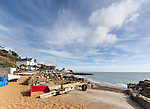 Steephill Cove, near Ventnor, on the southern coast of the Isle of Wight