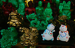 Figurines for sale in the Chinatown district of San Francisco, California.  Jim Urquhart/Straylighteffect.com