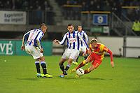 VOETBAL: ABE LENSTRA STADION: HEERENVEEN: 30-11-2013, SC Heerenveen - Go Ahead Eagles, uitslag 3-1, Luciano Slagveer (#17 | SCH), Hakim Ziyech (#22 | SCH), ©foto Martin de Jong
