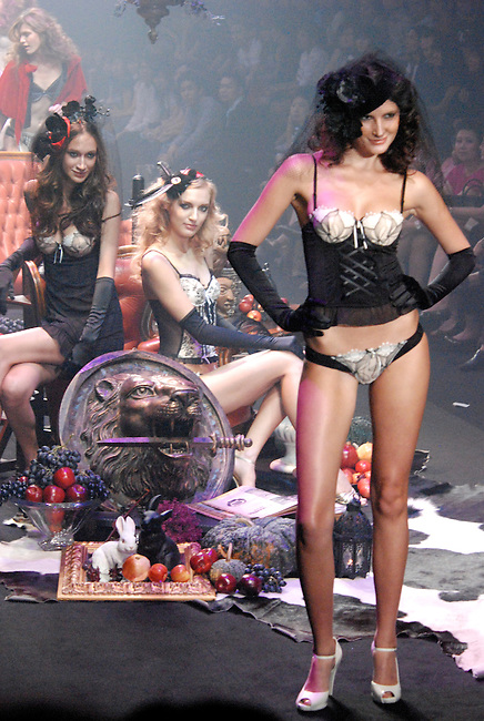 Lingerie by leading labels put together in the Secret Passion collection for the Bangkok International Fashion Week