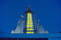 Steeple of Empire State Building, designed by Shreve, Lamb & Harmon, William F. Lamb as chief designer (&Gregory Johnson)