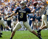 16 September 2006: Pitt quarterback Tyler Palko..The Michigan State Spartans defeated the Pitt Panthers 38-23 on September 16, 2006 at Heinz Field, Pittsburgh, Pennsylvania.