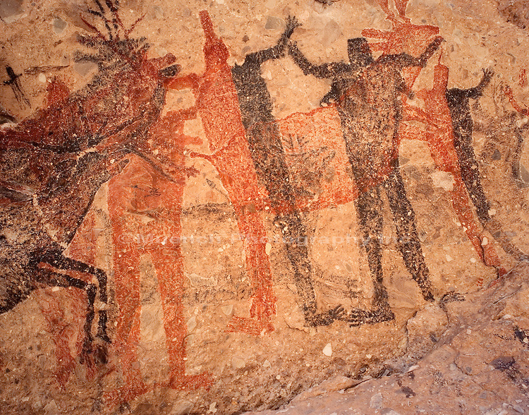 Cueva Pintada, Sierra San Francisco, Baja California Sur
