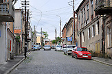Straßenszene in Kutaissi. / Street life in Kutaisi.