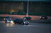 Barack Obama departs from Abelag Brussels to Rome - Belgium