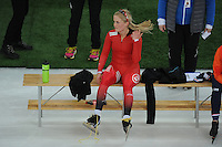 SPEED SKATING: HAMAR: Vikingskipet, 04-03-2017, ISU World Championship Allround, 3000m Ladies, Camilla Lund (NOR), ©photo Martin de Jong