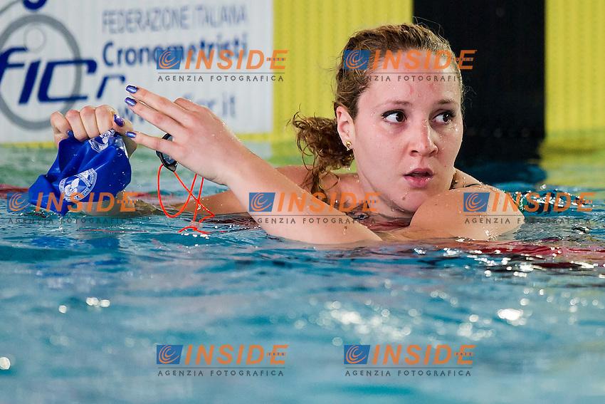 Ilaria Bianchi Fiamme Azzurre<br /> 200 Dorso Maschi<br /> Batterie Giorno 3<br /> Campionati Italiani Assoluti Nuoto Primaverili Fin UnipolSai<br /> Riccione Italy 14-18/04/2015<br /> Photo Andrea Masini/Deepbluemedia/Insidefoto