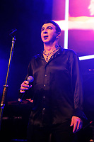 MAR 22 Marc Almond performing at Camden Roundhouse