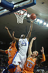 UK forward/center Samarie Walker shoots a basket during the first half of the UK vs. Tennessee at Memorial Coliseum in Lexington, Ky., on Sunday, March 3, 2013. Photo by Emily Wuetcher | Staff....