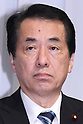 June 17, 2010 - Tokyo, Japan - Japanese Prime Minister Naoto Kan, who is also leader of the ruling Democratic Party of Japan (DPJ), is pictured during a news conference in Tokyo, Japan, on June 17, 2010. Japan's ruling Democratic Party was set to unveil its campaign pledges for elections on July 11, and announced a plan to halve the world's largest public debt in six years.