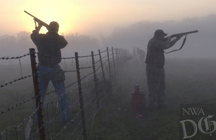 NWA Democrat-Gazette/FLIP PUTTHOFF<br />Hunters will be afield at first light on Sept. 5 for opening day of dove hunting season.