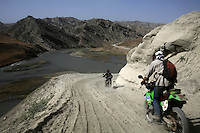 Day 2, the new road being made between Kishim and Faizabad is promising but hard work. What do war correspondences do on the holidays. 4 Kabul based journalists were the first westerners to ride motorcycles into the Wakhan corridor.the 12 day trip was full with dramas, breakdowns, arrests, crashes, yak riding and many miles. over 1200 kms they travelled and reached their desired destination of surhad e brogil deep in the wakhan corridor. location of the great game and once named the roof of the world.