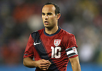 Landon Donavon(10) of the USA MNT during an international friendly match against Paraguay at LP Field, in Nashville, TN. on March 29, 2011.Paraguay won 1-0.