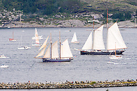 Norway, Randaberg. Tall Ships Race in Stavanger 2011. Goodbye, fare thee well! Wylde Swan.