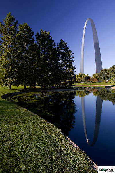 The Gateway Arch is the city's best known landmark and a popular tourist attraction in downtown Saint Louis, Missouri.  The Arch is the tallest national monument in the United States standing at it tallest point at 630 feet.