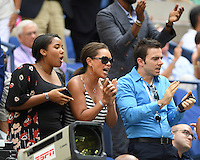 FLUSHING NY- SEPTEMBER 05: Vanessa Williams is seen watching Venus Williams Vs Pliskova on Arthur Ashe Stadium at the USTA Billie Jean King National Tennis Center on September 5, 2016 in Flushing Queens. Credit: mpi04/MediaPunch