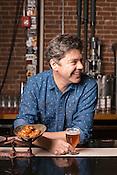 Durham, North Carolina - Tuesday March 29, 2016 - Fullsteam Brewery founder Sean Lilly Wilson.