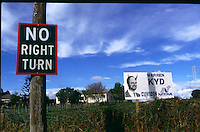 No Right Turn, Manurewa 1988