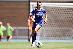 26 August 2012: Florida's Holly King. The University of Florida Gators defeated the Duke University Blue Devils 3-2 in overtime at Fetzer Field in Chapel Hill, North Carolina in a 2012 NCAA Division I Women's Soccer game.