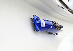 22 November 2009:  Nicolae Istrate, piloting the Romania 1 bobsled, leads his 4-man team to a 18th place finish at the FIBT World Cup competition, in Lake Placid, New York, USA. Mandatory Credit: Ed Wolfstein Photo