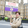 UKIP European Arrest Warrant debate demo 10th November 2014