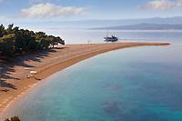 Zlati Rat ( Golden Cape  beach ) Bra? island, Croatia