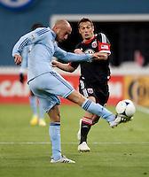 Aurelien Collin, Hamdi Salihi.  Sporting KC defeated D.C. United, 1-0, at RFK Stadium in Washington, DC.