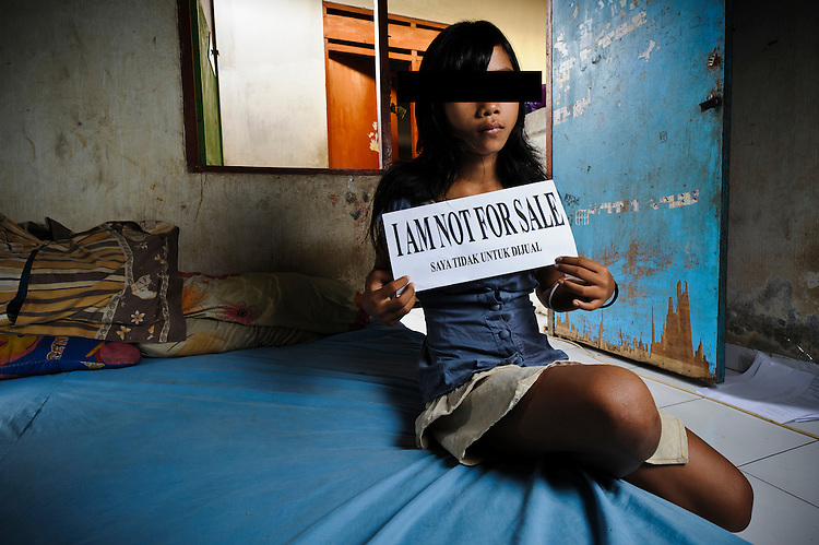 Human trafficking, Indonesia.