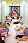 1300 evacuees pack seven hallways of the Mosley High School in Panama City as Hurricane Opal approaches the Florida panhandle as a category three storm when it came ashore near Pensacola, Florida October 4, 1995.  It was the strongest hurricane of the 1995 season and killed 63 people, 13 in the United States.  Hurricane Opal's name was retired the following year.