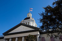 TALLAHASSEE, FLA. 1/22/14-Florida's Historic Capitol building in Tallahassee.<br /> <br /> COLIN HACKLEY PHOTO