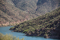 The area near the Roosevelt Dam and the Salt River, one location of the movie &quot;Transformers 5 The Last Knight&quot; , E7, being filmed near Theodore Roosevelt Dam in Arizona. The film has just started filming and further filming will take place in locations like Detroit, Ireland, Great Britan and Iceland. <br /> <br /> &copy;Fredrik Naumann/Felix Features