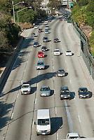 Pasadena Freeway, I-110, Los Angeles, CA, Traffic, (SR 110) CA 110, Arroyo Seco, Parkway, Traffic