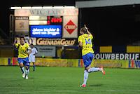 VOETBAL: LEEUWARDEN: Cambuur Stadion, 14-09-12, Cambuur - Almere City, Oebele Schokker (#14) scoort 1-0, de eerste goal van Schokker in de Jupiler League, ©foto Martin de Jong