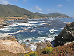 View from Highway 1, Big Sur Area, California, USA