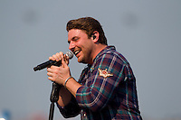 Concert - Chris Young performs at NASCAR Quaker State 400 - Sparta, KY