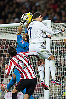 extraordinary leap of Cristiano Ronaldo, who is taller goalkeeper