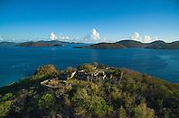 Murphy Great House Ruins<br /> Virgin Islands National Park<br /> St. John<br /> U.S. Virgin Islands