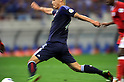 Keisuke Honda (JPN),.JUNE 3, 2012 - Football / Soccer :.The artistic shot. 2014 FIFA World Cup Asian Qualifiers Final round Group B match between Japan 3-0 Oman at Saitama Stadium 2002 in Saitama, Japan. (Photo by Takahisa Hirano/AFLO)