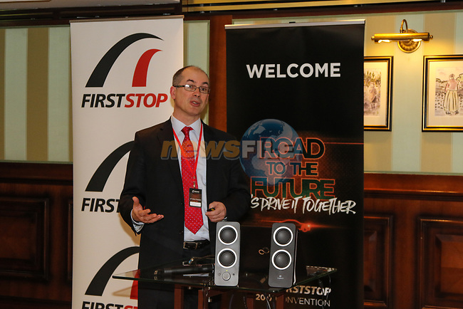 """during the Bridgestone FIRSTSTOP 2017 Convention """"Road to the Future. Let's Drive it together"""" at Powerscourt Hotel on Thursday the 23rd March 2017."""