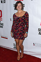 """HOLLYWOOD, LOS ANGELES, CA, USA - APRIL 01: Madison Burge at the Los Angeles Premiere Of Screen Media Films' """"10 Rules For Sleeping Around"""" held at the Egyptian Theatre on April 1, 2014 in Hollywood, Los Angeles, California, United States. (Photo by Xavier Collin/Celebrity Monitor)"""