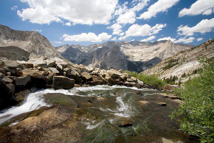Le Conte Canyon Sierra Mountains, Sierra Nevada, CA