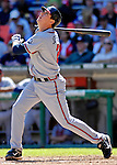 16 September 2007: Atlanta Braves second baseman Kelly Johnson in action against the Washington Nationals at Robert F. Kennedy Memorial Stadium in Washington, DC. The Braves shut out the Nationals 3-0 to take the third game of their 3-game series.. .Mandatory Photo Credit: Ed Wolfstein Photo
