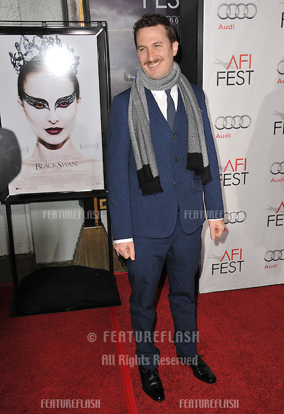 """Director Darren Aronofsky at the Los Angeles premiere of his new movie """"Black Swan"""", the closing film of the 2010 AFI Fest, at Grauman's Chinese Theatre, Hollywood..November 11, 2010  Los Angeles, CA.Picture: Paul Smith / Featureflash"""
